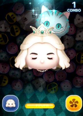 の 女王 白 ツムツム