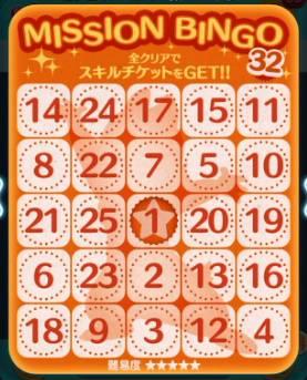 ツムツム ビンゴ 32 ツムツム ビンゴ32枚目の完全攻略&報酬一覧【最新版】